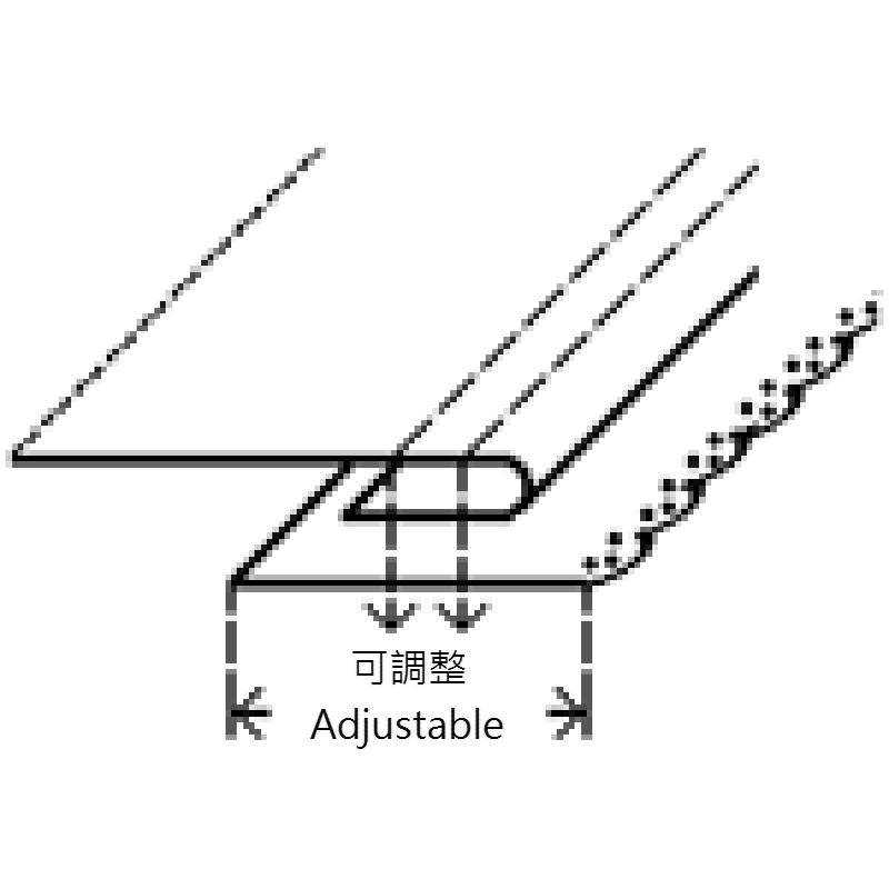 KHF81 Lace Attaching Folder