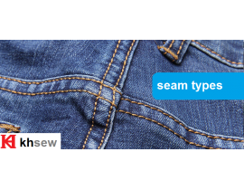 Seam types (quoted from Coats)