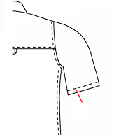 Sleeve Hemming