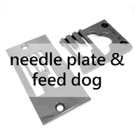 Pfaff Needle Plate & Feed dog