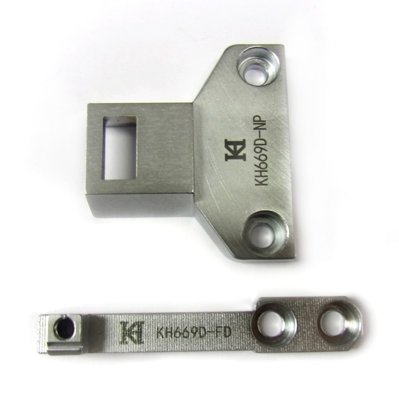 KH669D-NP Needle Plate + KH669D-FD Feed Dog
