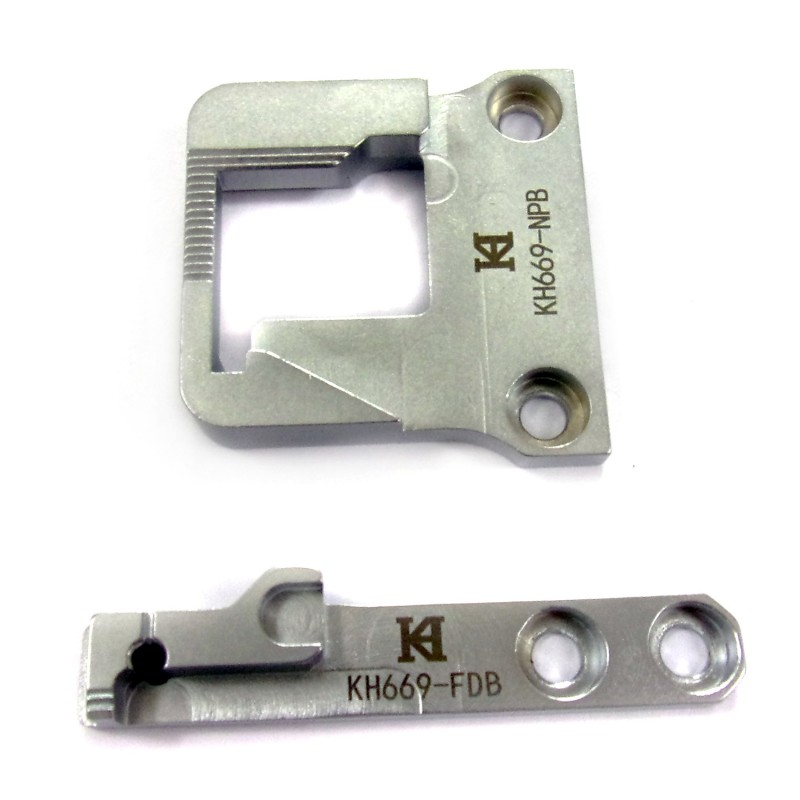 KH669-NPB Needle Plate + KH669-FDB Feed Dog
