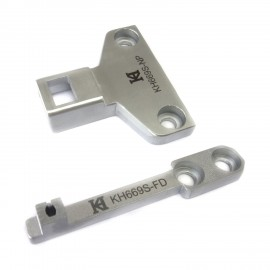 KH669S Needle Plate + Feed Dog
