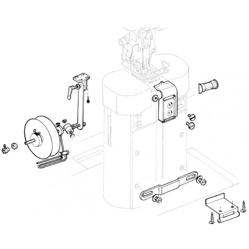 KA768L Belt Guide Complete Set (22-32mm)