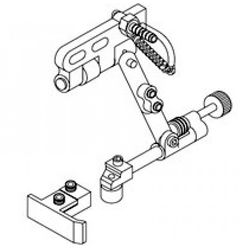KG767A Long Straight & Roller Guide