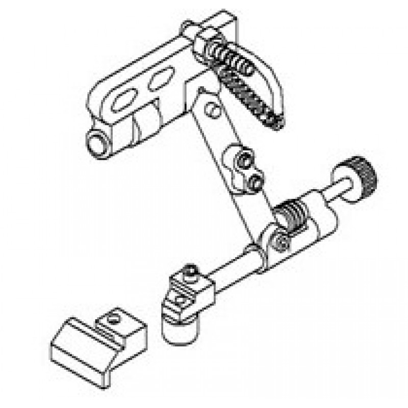 KG767B Zipper Guide and Roller Guide