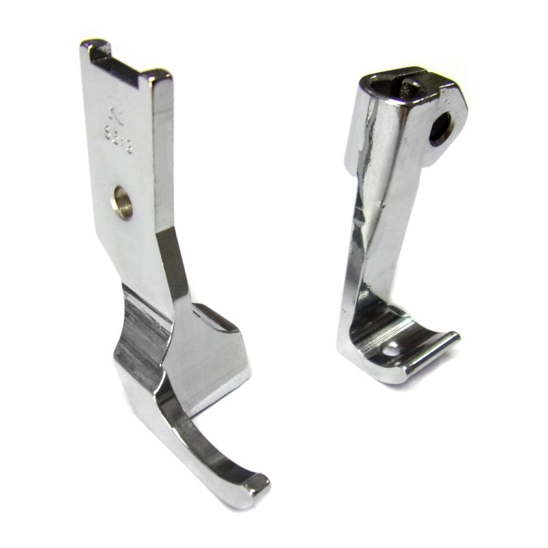 S513S Presser Foot + S512S Feeding Foot
