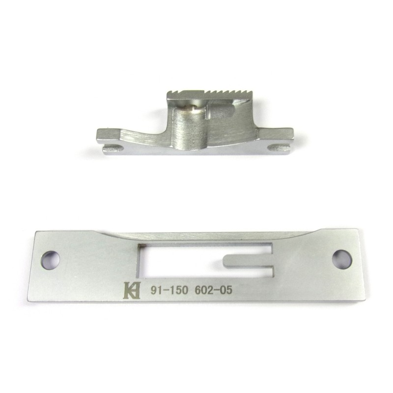 91-150 602-05 Needle Plate + KH1525A-FD Feed Dog