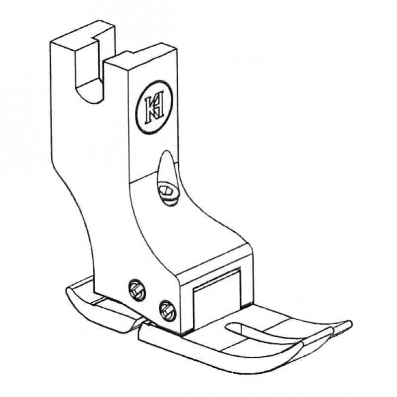 KT351(KTP8700) Hinged Compensation Presser Foot